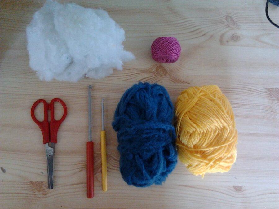 Relleno para muñecos crochet:  guata relleno amigurumi, relleno floca, materiales para hacer amigurumis, fibra para relleno de peluches