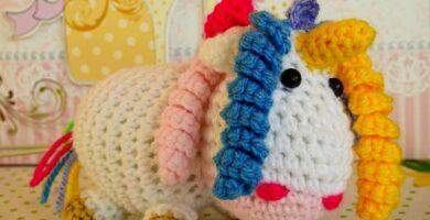 unicornio a ganchillo animales amigurumis, amigurumis animales