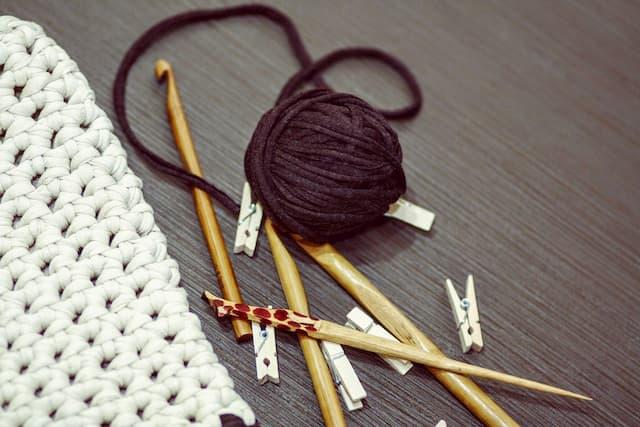 Agujas trapillo, ganchillos de madera , agujas de tejer numeración, agujas de tejer largas para mantas, kits ganchillo, agujas de tejer de madera