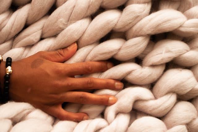 lana para manta crochet, lana gorda barata, lanas para tejer mantas