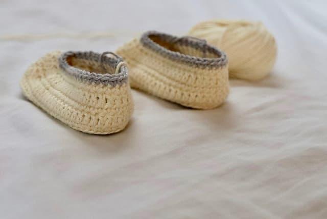 que es crochet, patucos de ganchillo para bebe