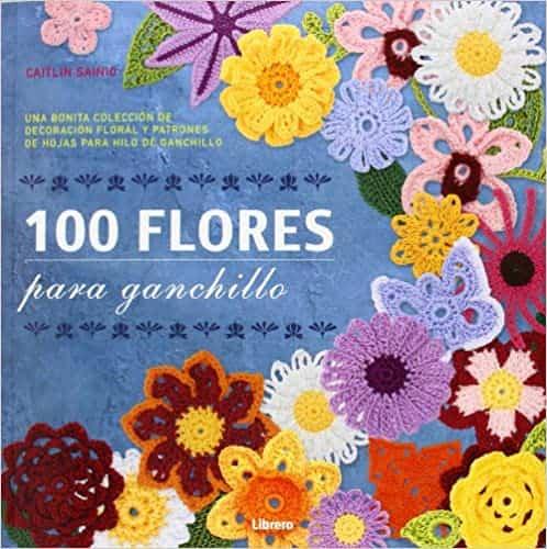 ganchillo flores de crochet paso a paso para principiantes, esquemas flores de ganchillo
