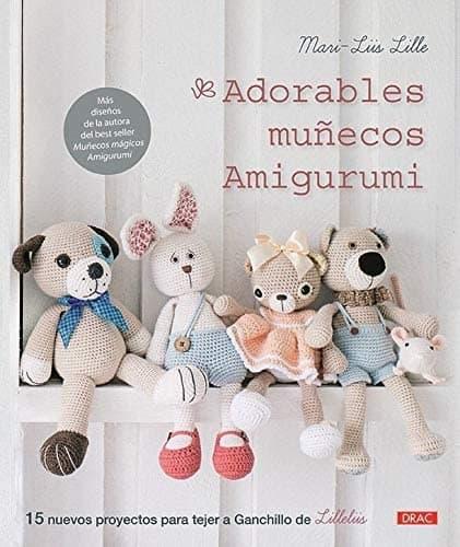 libro amigurumis bebe, mejores libros de amigurumis, mascotas de ganchillo, perro amigurumi, conejito amigurumi, oso amigurumi