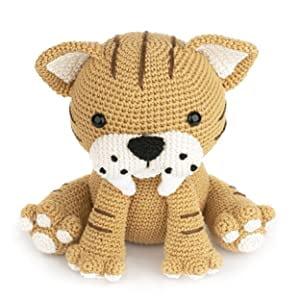 mascotas de ganchillo, amigurumi tigre, amigurumi animales