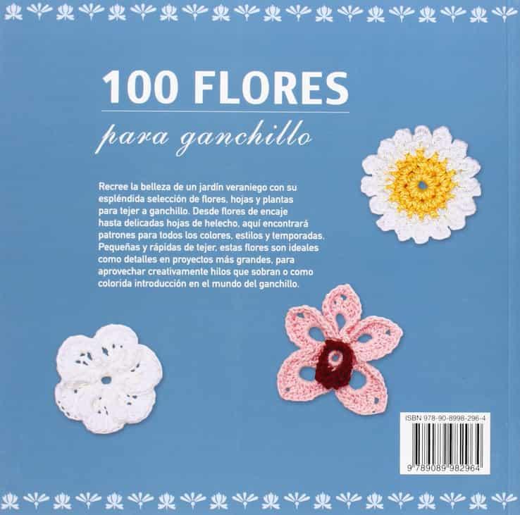 flores de crochet patrones, flores crochet pequeñas