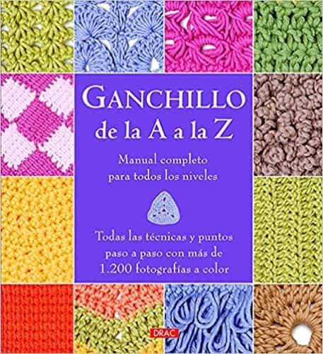 manual técnica de ganchillo, libro crochet