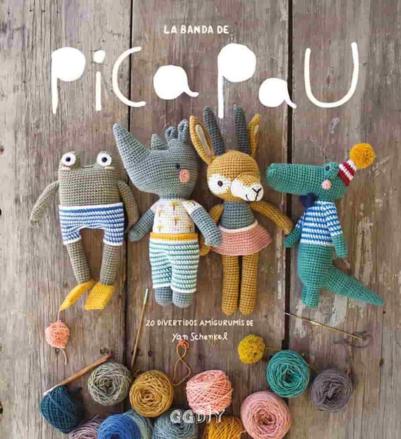 mejores libros de amigurumi, mascotas de ganchillo, libro de amigurumi en español, ganchillo y punto