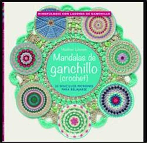 mandalas de ganchillo patrones, mejor libro para aprender ganchillo, mandalas de crochet colgantes