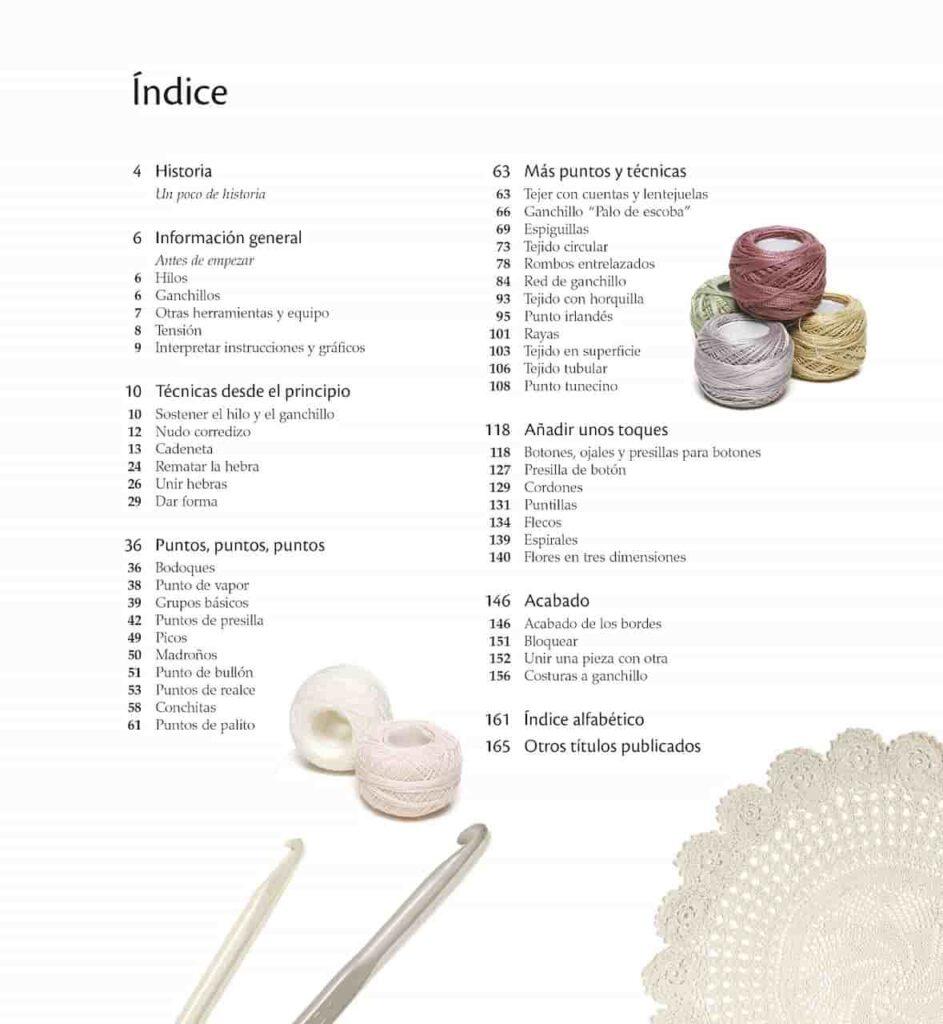 manual de ganchillo, puntos crochet paso a pasotos para p