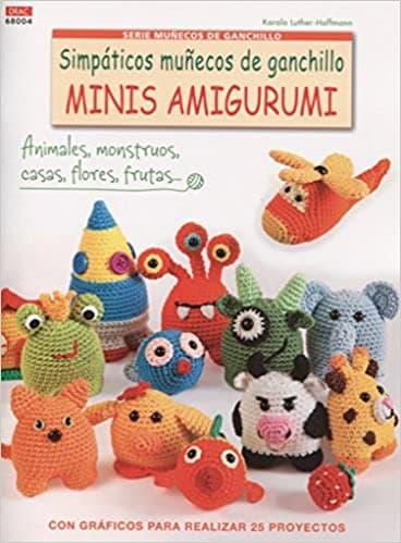 mejores libros de amigurumis: mascotas de ganchillo. Libro sobre amigurumis: amigurumi elefante, amigurumi oso panda, amigurumi rana