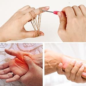 agujas de ganchillo para artritis, gifort ganchillos baratos amazon