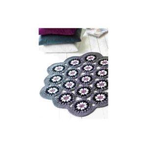 libros de patrones de ganchillo, libro de patrones de crochet, patrones fáciles de ganchillo, tapete ganchillo patrón, alfombra crochet patrón